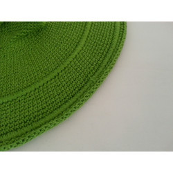 lime green garden hat